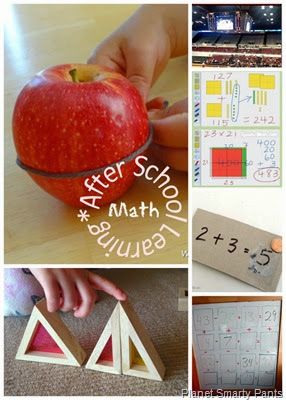 Ideas to supplement or extend math at home
