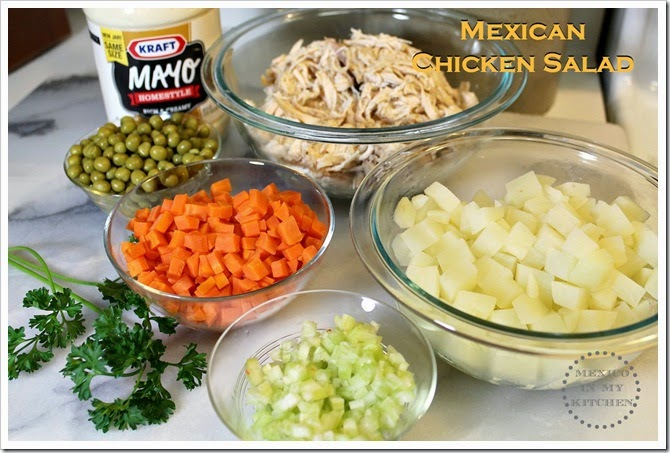 Mexican Chicken Salad | Ingredients