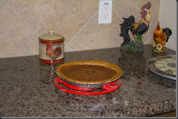 Chocolate chess pie christmas new house