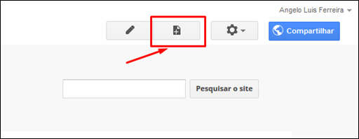 Usando o Google Sites como servidor de arquivos para blogs e sites - Visual DicasUsando o Google Sites como servidor de arquivos para blogs e sites - Visual Dicas