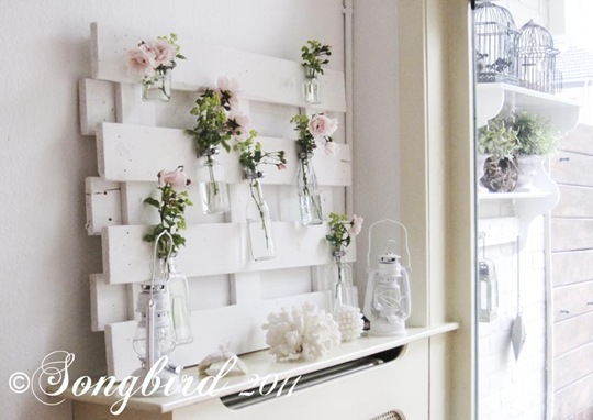 Summer Mantel with Roses 1