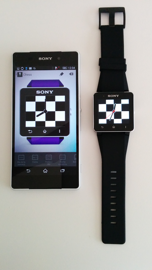 Joystick Clock for Smartwatch APK