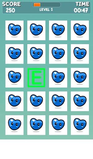 ABCの記憶ゲーム