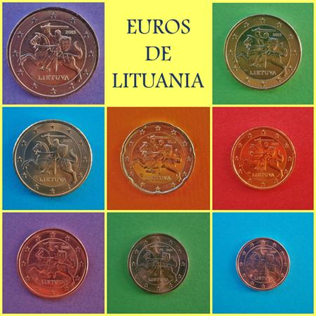 Euros de Lituania