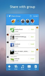 iShare | Airdrop for Android Screenshot
