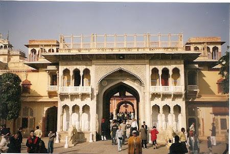 Obiective turistice India: Palatul maharajahului din Jaipur