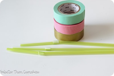 Washi Tape Bead Supplies