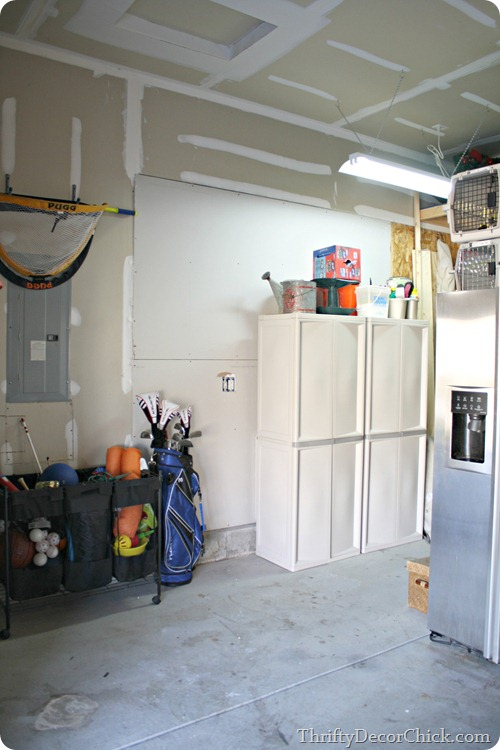 Organization in the garage