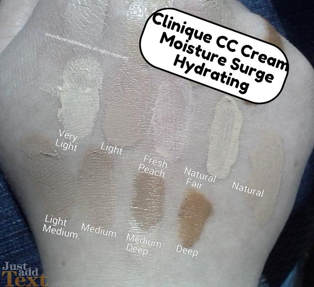 Moisture Surge CC Cream Hydrating Color Corrector Broad Spectrum by Clinique #11