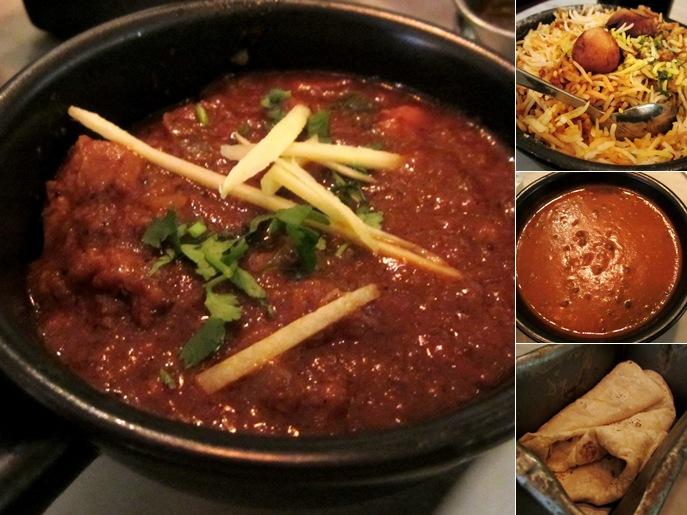 View House Black Dal, Dhaba Chicken, Vegetable Biryani, Roomali Roti