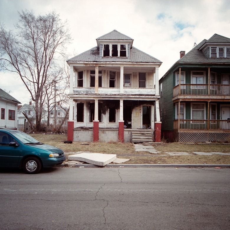 Abandoned Houses Of Detroit