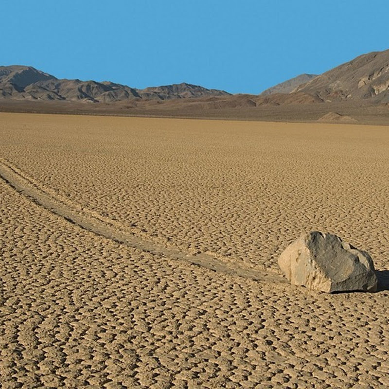 The Mysterious Sailing Stones of Racetrack Playa