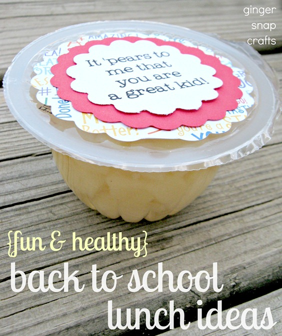 back to school with Del Monte fruit cups