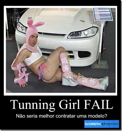 Tunning Girl FAIL by Kiko Molinari Originals