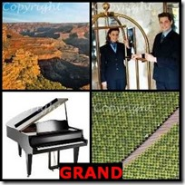 GRAND- 4 Pics 1 Word Answers 3 Letters