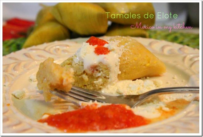 Sweet Corn Tamales Recipe | Tamales de Elote