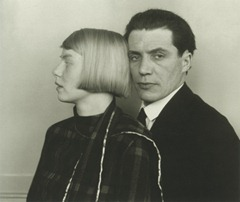 August Sander - Architect Hans Heinz Lüttgen and his Wife Dora - 1926