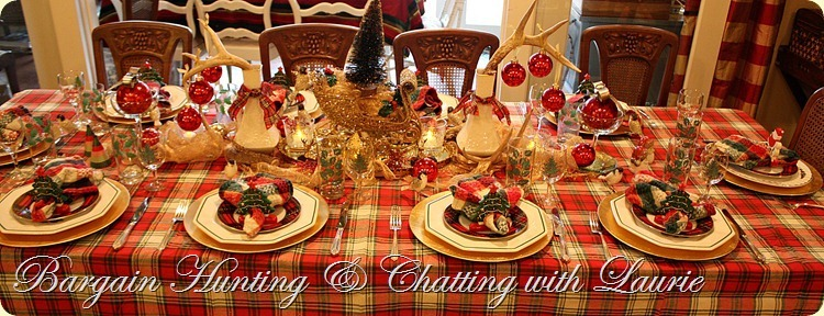 TABLE CHRSTMAS PLAIDS