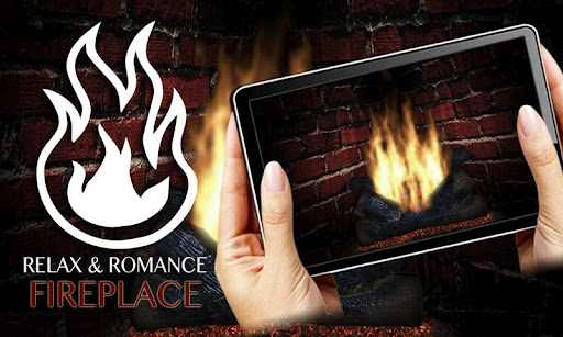 Romance Fireplace App 7 Tablet