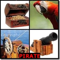 PIRATE- 4 Pics 1 Word Answers 3 Letters