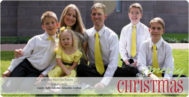 our Christmas card, for blog