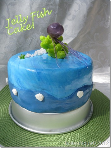 jelly fish cake