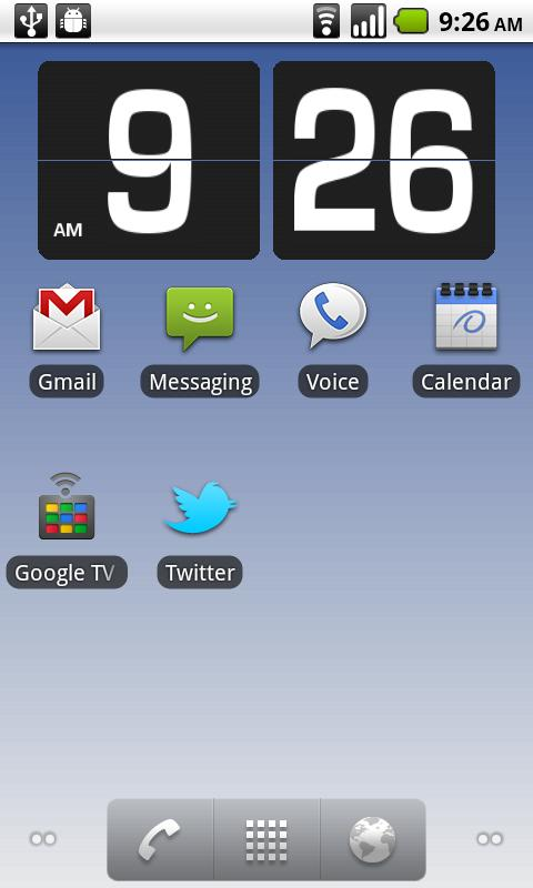 Flip Clock 3D - Live Wallpaper- screenshot