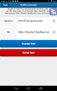 SenchaTouch FeedBurner screenshot 1