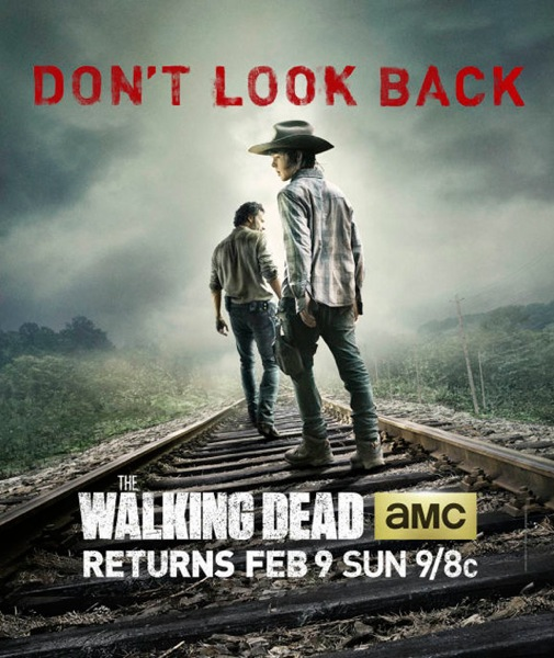 The Walking Dead 4 poster
