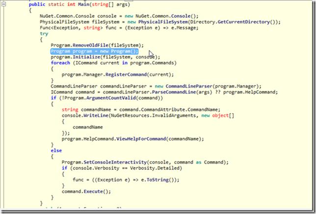 Dinis Cruz Blog: Retrieving NuGet package programatically