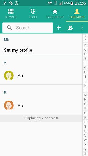 Contacts Shortcut