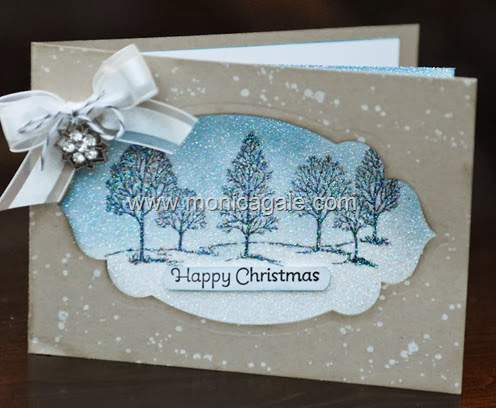 Stampin'Up!  Uk Lovely as a Tree Video tutorial