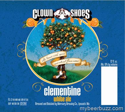 Clown Shoes Clementine White Ale