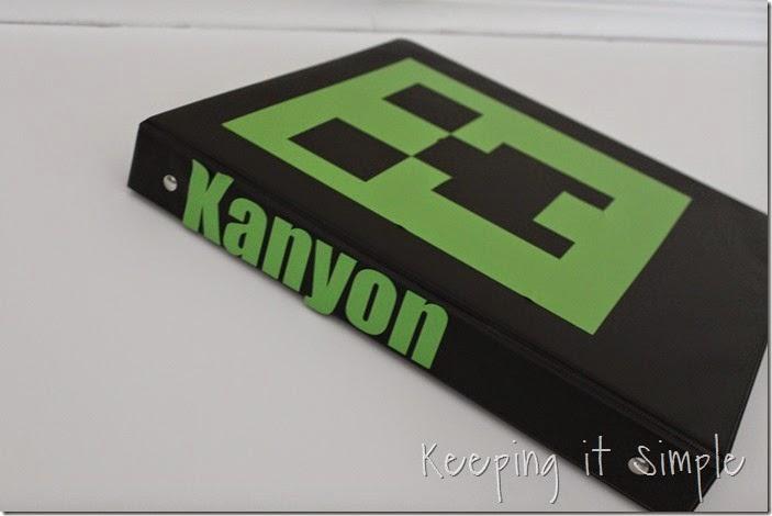 Minecraft Notebooks (12)