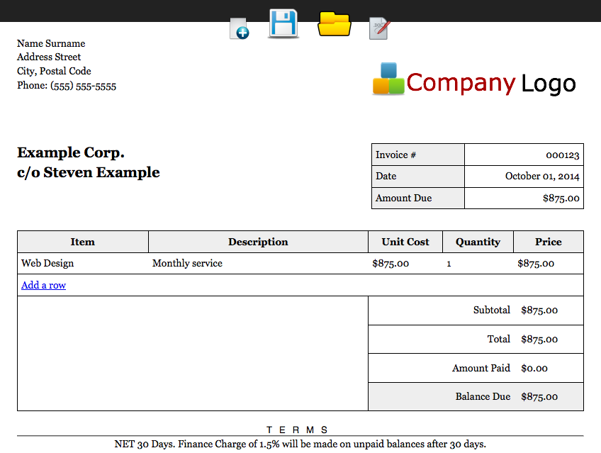 editable invoice droid android apps on google play