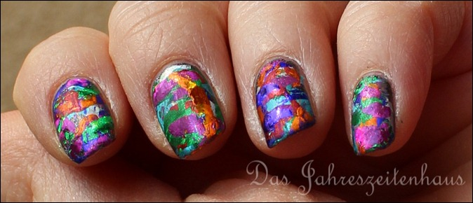 Nageldesign Faschingsnägel 2