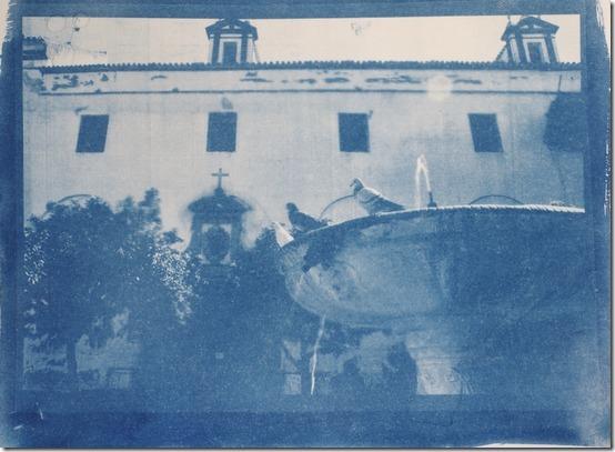 Brunnen_Sevilla_Cyanotypie