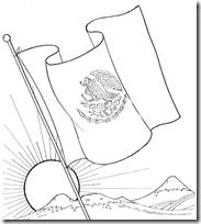 Colorear 24 De Febrero Día De La Bandera Dibujos Colorear