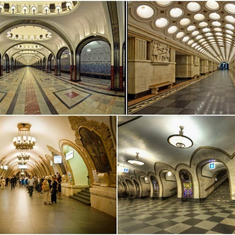 Art and Decor of Moscow Metro Stations