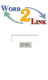 Word 2 Link - screenshot thumbnail