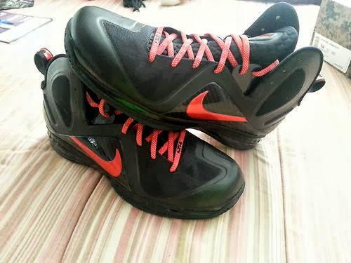 brand new 7053f 4747a TBT Nike LeBron 9 PS Elite 8220Hunger Game8221 6 Logo PE ...