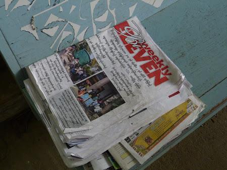 Ziare Myanmar - in birmaneza