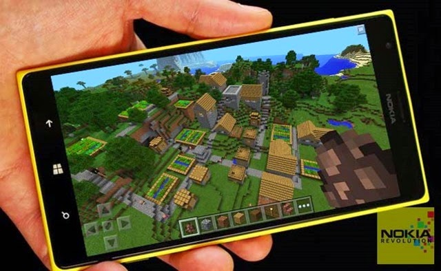 Minecraft Pocket Edition para Windows Phone