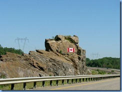 7680 Ontario Hwy 400 North - Canadian Flag