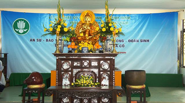 DSC06247 Lễ Hiệp kỵ   Lễ Huý Nhật Cư sĩ Sáng lập viên GĐPT Việt Nam   Tâm Minh Lê Đình Thám