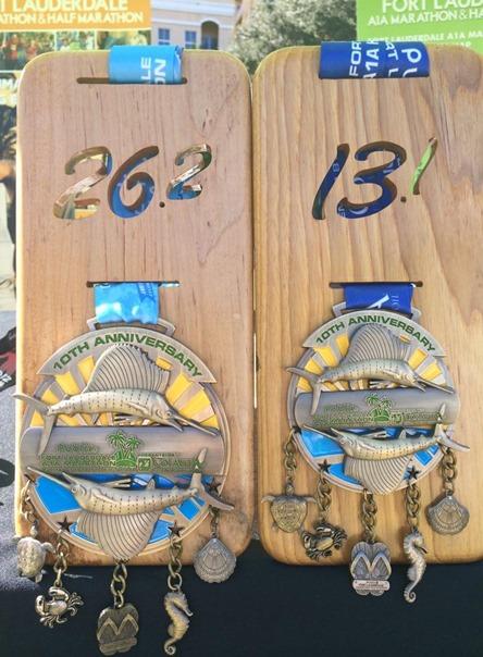 Fort lauderdale race medal