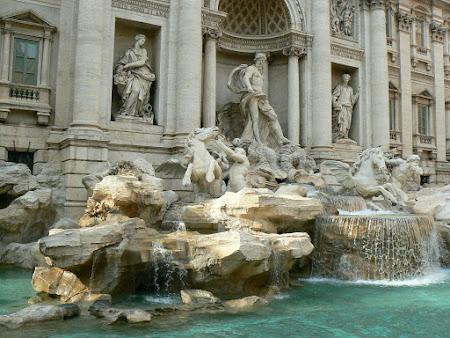 Obiective turistice Roma: Fontana di Trevi