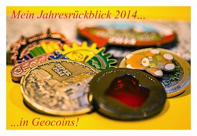 Jahresrückblick 2014 in Geocoins