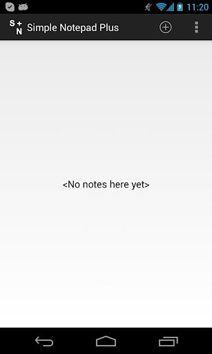 Simple Notepad Plus