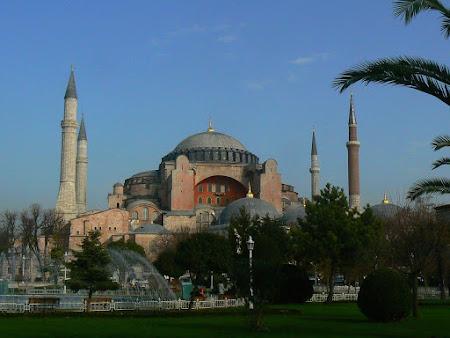Obiective turistice Turcia: Sf. Sofia Istanbul